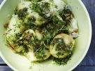 Warm Bowl of Basil Potatoes recipe