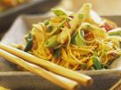 Water Chestnut and Noodle Fry recipe