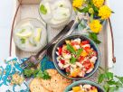 White Bean Salad Bowls recipe