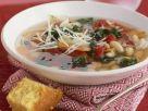 White Bean Soup with Cornbread recipe