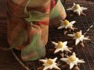 White Chocolate and Nougat Star Cookies recipe