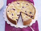White Chocolate Cheesecake with Blueberries recipe