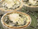 White Fish and Egg Tarts recipe