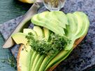 Whole-wheat Bread with Avocado Slices recipe