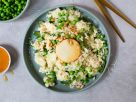 Wild Garlic and Pea Risotto with Goat Cheese recipe