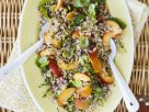 Rice Platter with Stone Fruit and Mint recipe