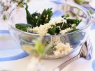 Wilted Nettle Salad with Eggs recipe