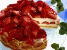 Yogurt Cake with Strawberries recipe