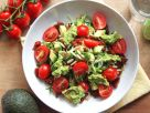 Zoodles, Tomato & Avocado Salad recipe