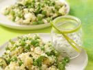 Zucchini and Couscous Salad with Feta Cheese recipe