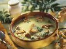 Zucchini Bisque with Mushrooms recipe