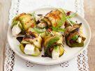 Zucchini Cheese Rolls recipe
