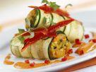 Zucchini Rolls with Bell Pepper Filling recipe