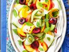 Zucchini Salad with Summer Fruits recipe